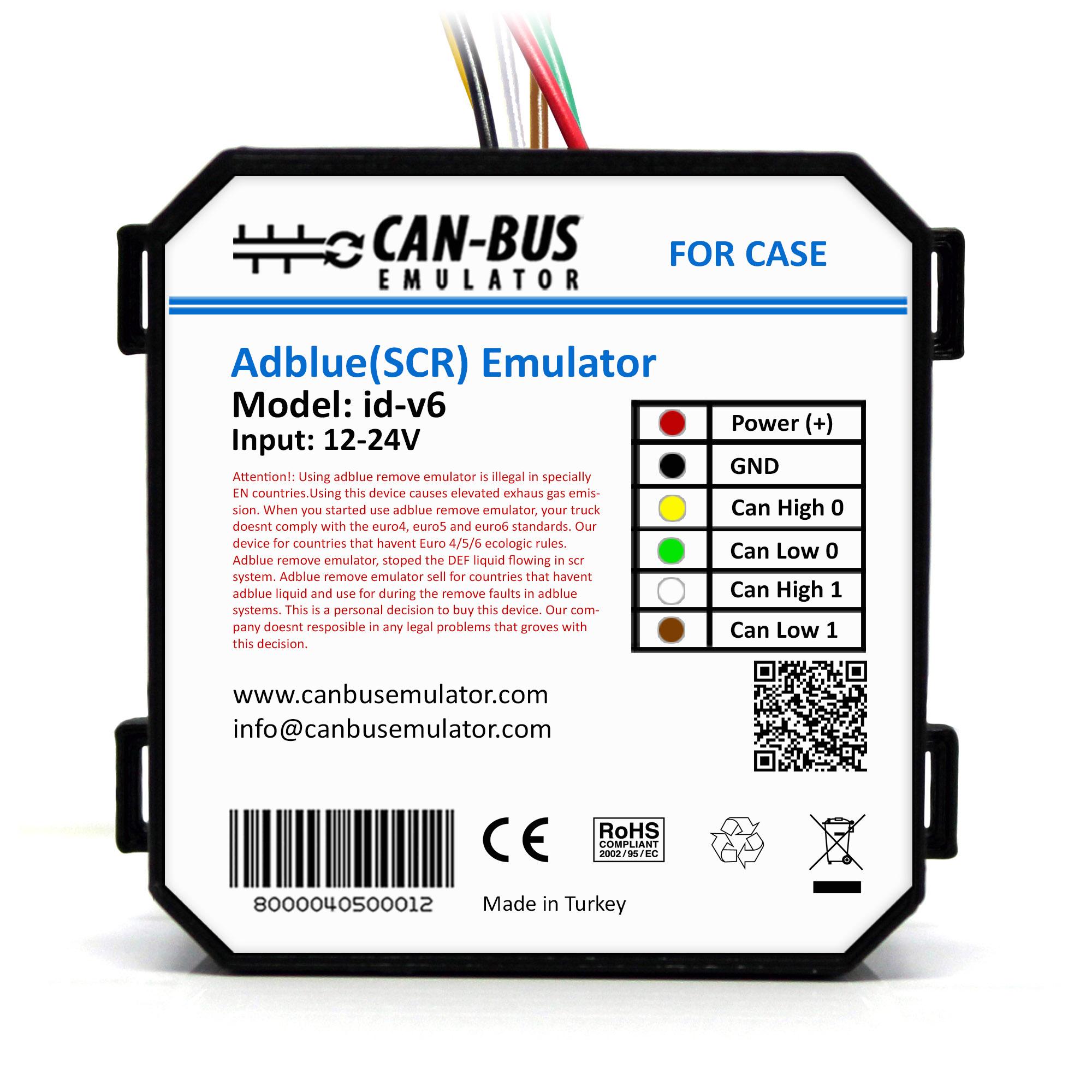 CASE Euro 6 Adblue Removal Emulator