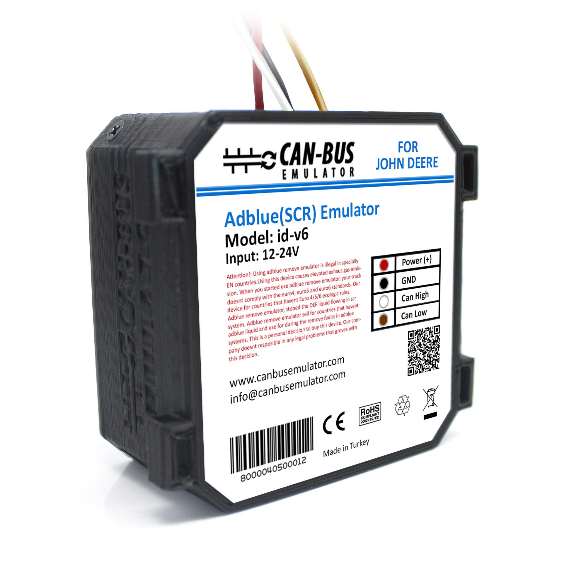 JOHN DEERE Euro 6 Adblue (SCR) Emulator