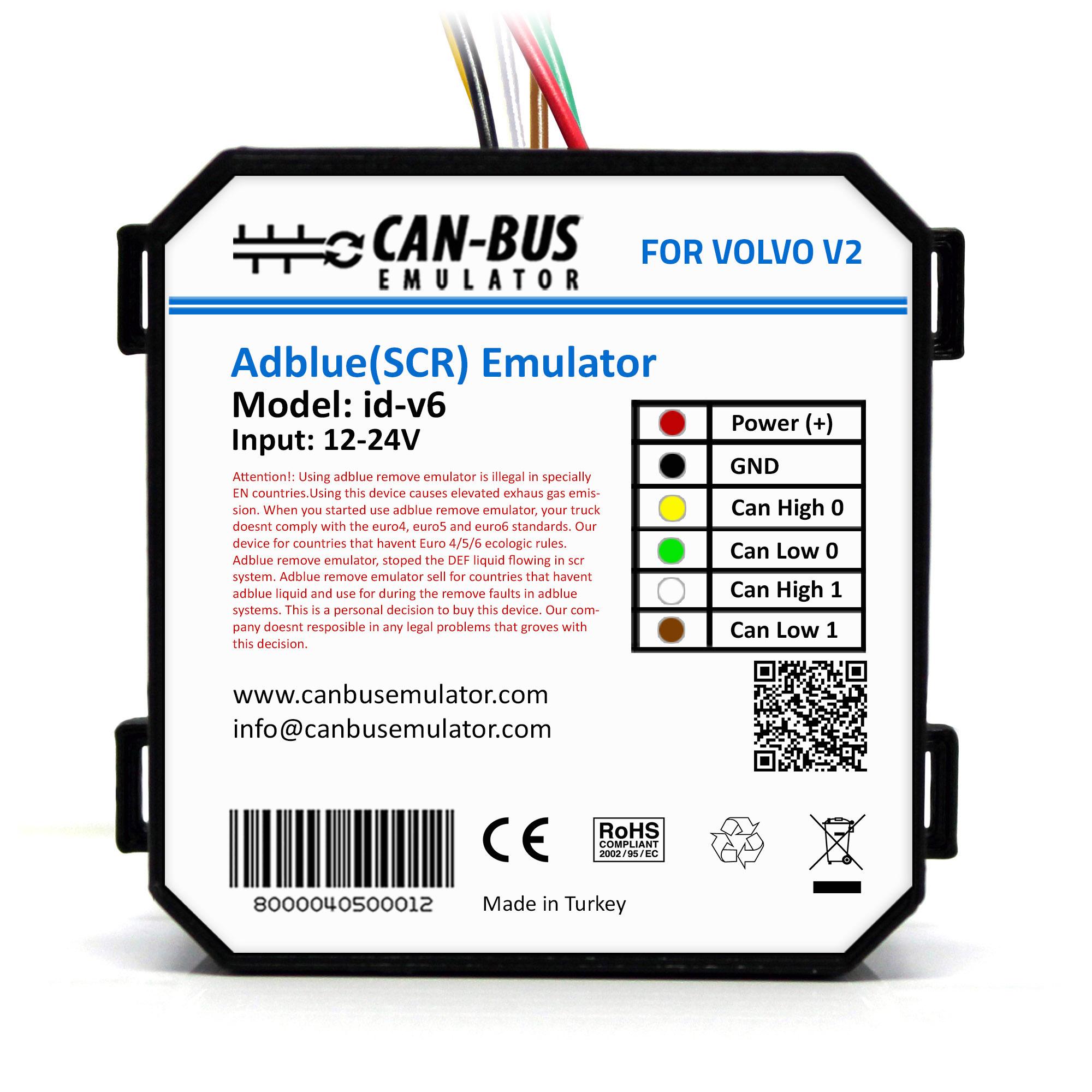 Volvo Euro 6 Adblue Removal Emulator